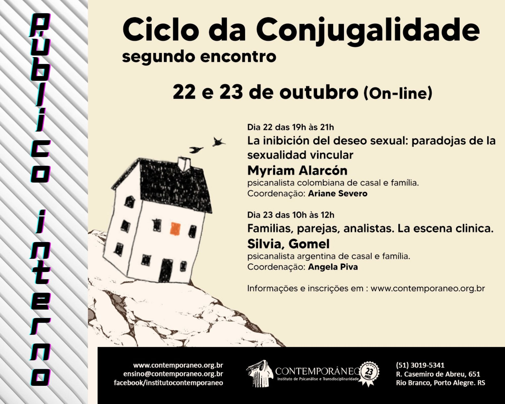 Curso para Ciclo da Conjugalidade 2º Encontro - Público Interno