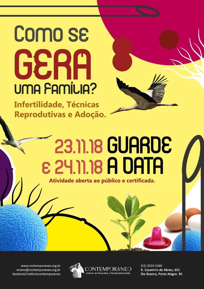 Curso para Como se GERA uma Família? - Público Externo