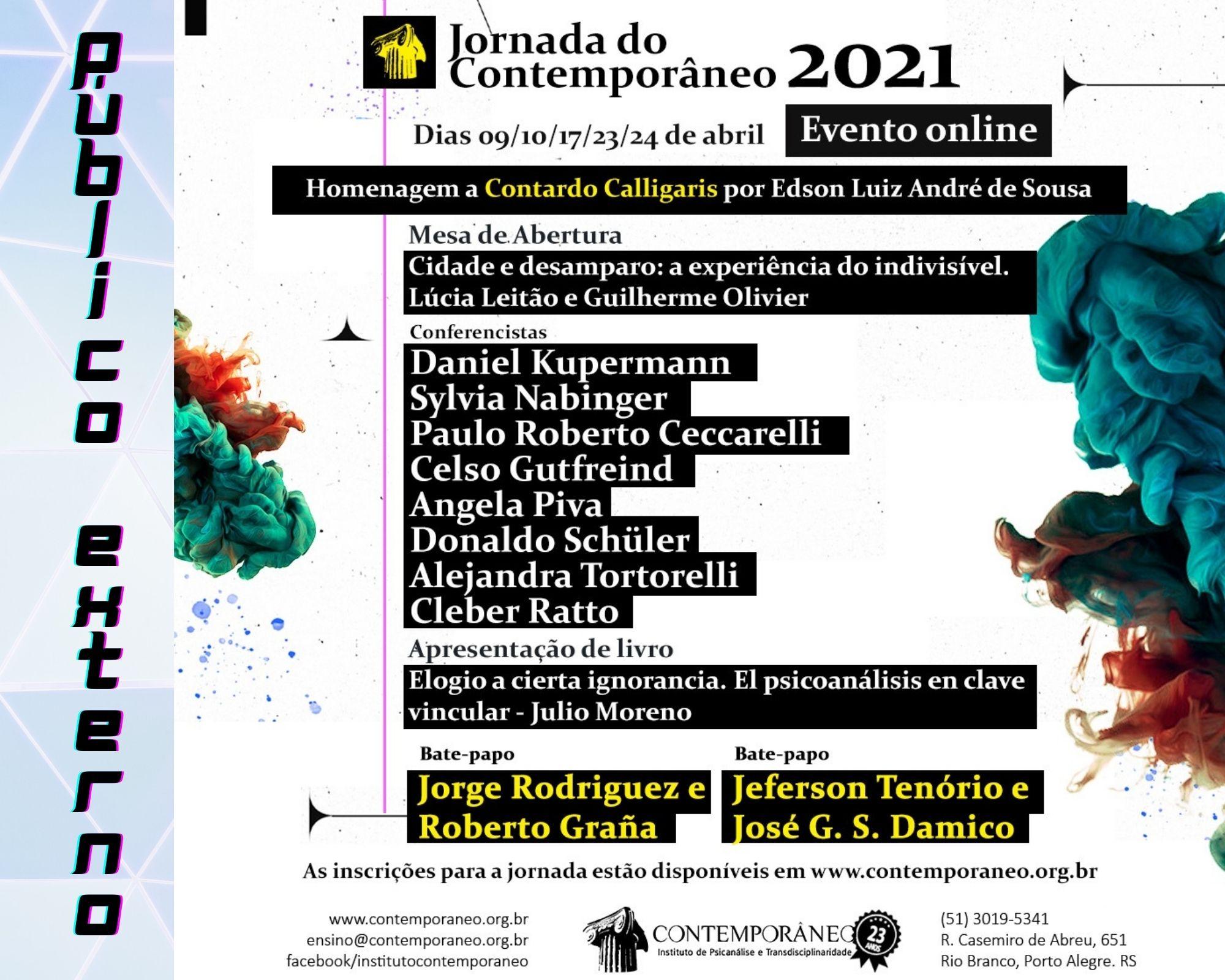 Curso para Jornada 2021 - Público Externo