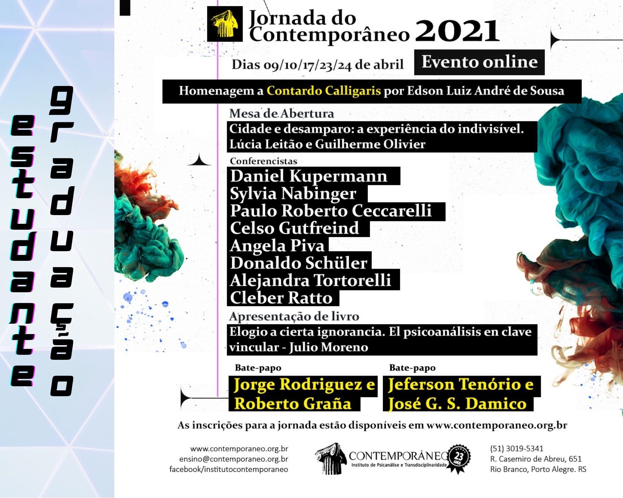 Curso para Jornada 2021 - Estudantes de Graduação